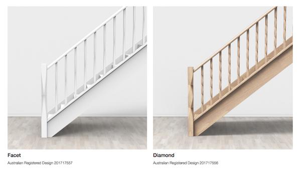 Facet and Diamond balustrades